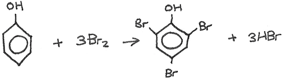 Bromination reaction